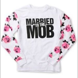 Married to the Mob Floral Sweater